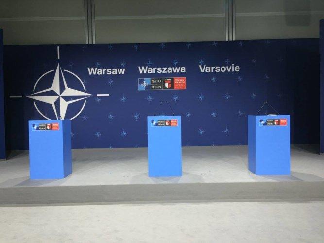 SZCZYT NATO W WARSZAWIE