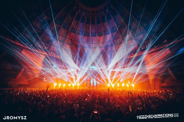 Oświetlenie i Multimedia na Tranceformations 2018