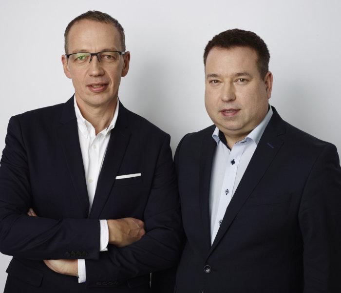 założyciele firmy TSe i członkowie Zarządu TSE Grupa Sp.zo.o