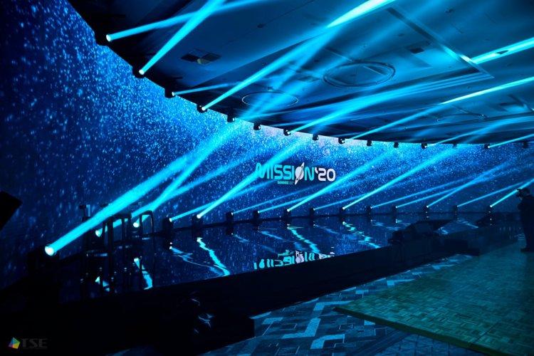 32 metrowy ekran LED