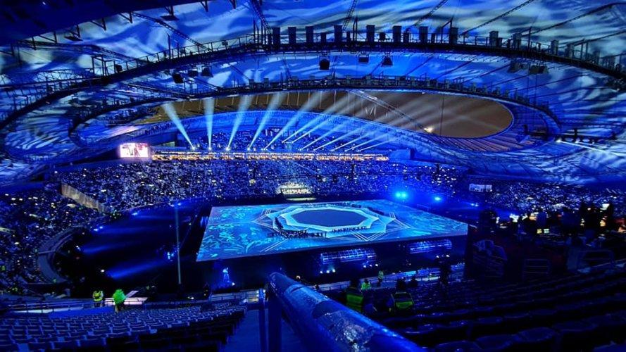 Arabian Gulf Cup w Katarze z oświetleniem scenicznym od TSE Grupa