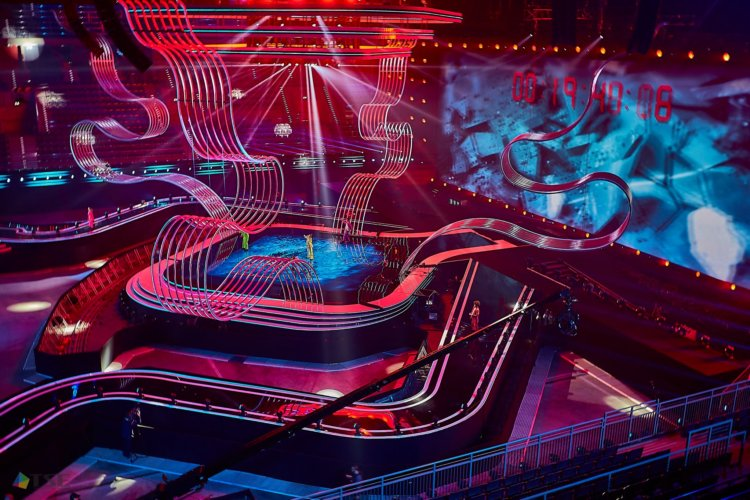 Stage lighting from TSE Grupa – Junior Eurovision Contest Song