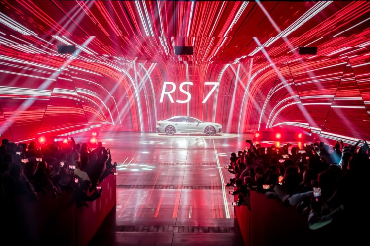 Audi Show 2019 with stage technology from TSE Grupa